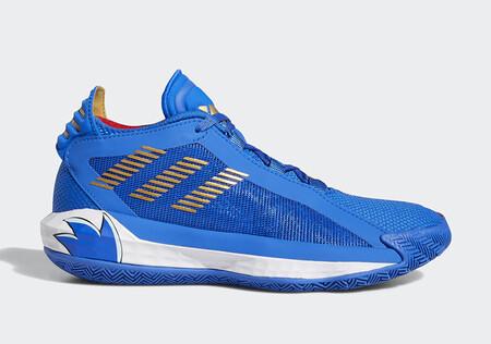 Adidas Dame 6 Sonic The Hedgehog 6