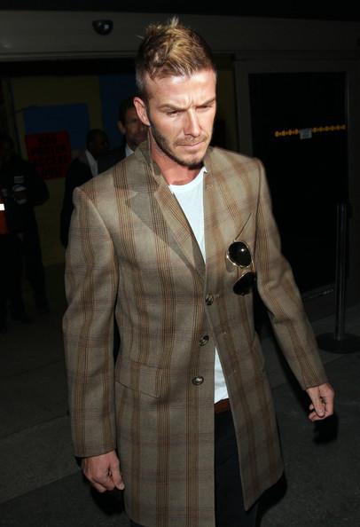 Foto de David Beckham con el nuevo tupé: trucos para ocultar las entradas y la caída del pelo (4/19)