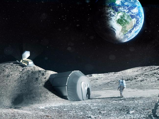 Colonia en la Luna según la NASA