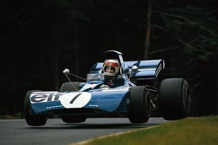 Jackie Stewart Tyrrell Ford Nürburgring 1972