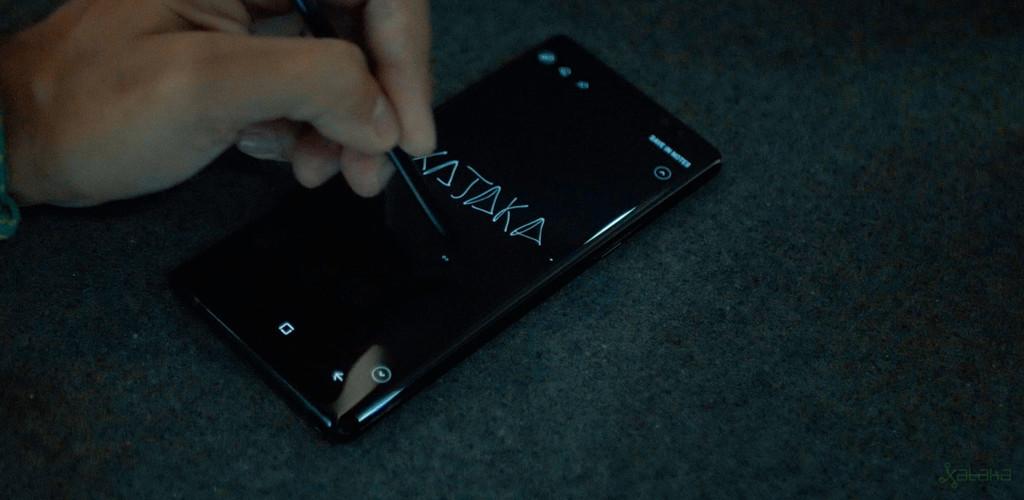 Samsung Galaxy Note 8 uso del S Pen