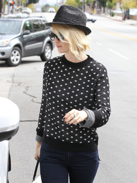 Copiando el estilo de calle de January Jones