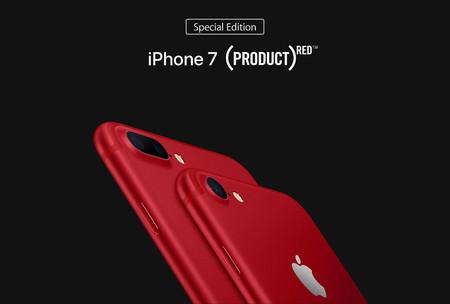 iPhone 7 Red Edition de 128GB con 200 euros de descuento en Amazon