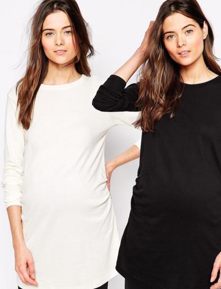 Ahorra con los packs premamá de Asos Maternity y New Look