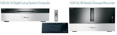 Sony VAIO XL1, entretenimiento digital