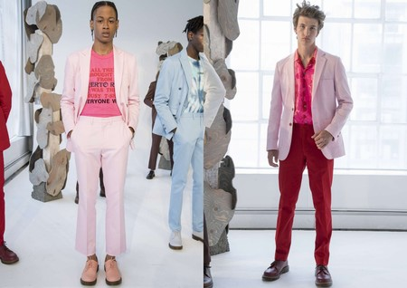 El Rosa Se Impone Como El Color De Moda En La Fashion Week De Nueva York 3