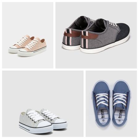 12 zapatillas de lona para toda la familia por menos de 25 euros