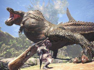 Monster Hunter World: el 22 de marzo llega Deviljho en su primera gran actualización