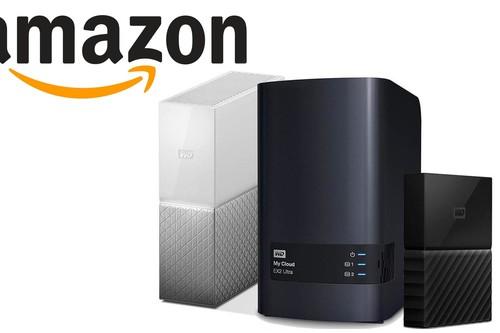 Ofertas de la semana en almacenamiento Western Digital en Amazon: TBs portables o de escritorio a precios rebajados
