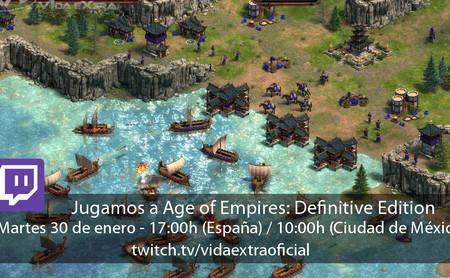 Streaming de Age of Empires: Definitive Edition a las 17:00h (las 10:00h en CDMX) [finalizado]