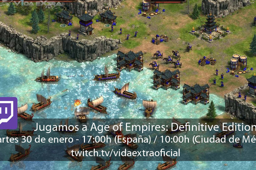Streaming de Age of Empires: Definitive Edition a las 17:00h (las 10:00h en CDMX) [finalizado]