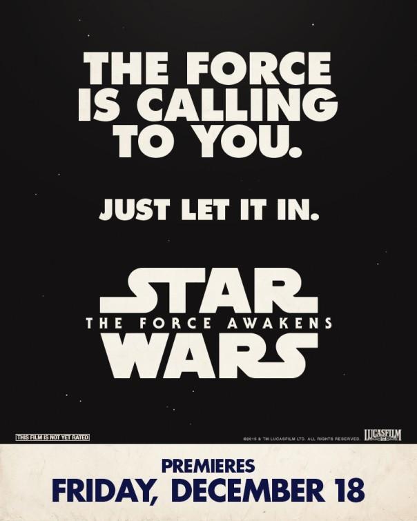 Foto de 'Star Wars: El despertar de la fuerza', todos los carteles del Episodio VII (14/18)