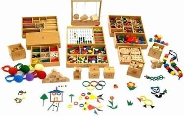 Materiales de pedagogía Froebel en Jaisa Educativos