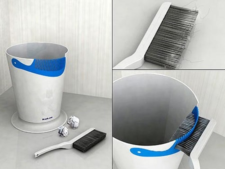Un cubo para limpiar cepillos: Brush Can