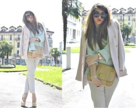 Una maleta para un puente. Las bloggers lucen el low cost de H&M y parece high chic