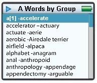 Diccionario Merriam-Webster para iPod