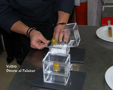 Carlos Valentí y su Pollo de corral con aromas de campo