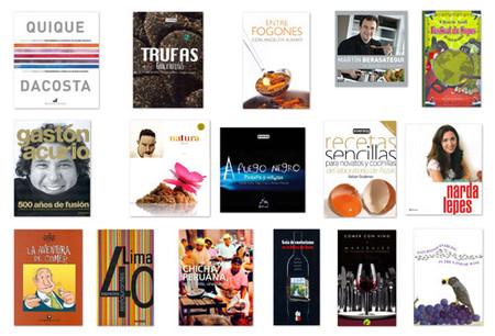 Caratulas de los libros premiados hispanos