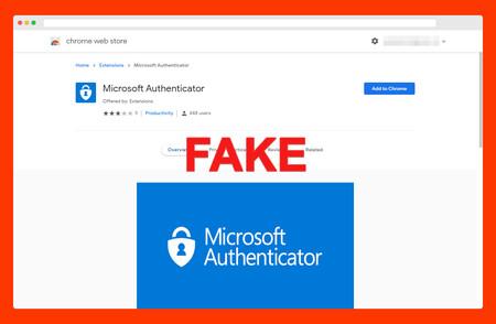 La extensión de Microsoft Authenticator que no es de Microsoft es otra prueba de lo poco que puedes confiar en la Chrome Web Store