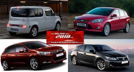 Mejor coche compacto: Lo mejor de 2010 en Motorpasión