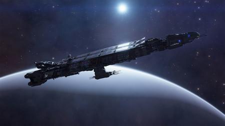 Así son las Fleet Carriers, las naves más grandes, rápidas y caras de Elite: Dangerous que llegarán en junio
