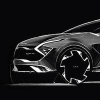 El nuevo Kia Sportage europeo se deja ver en estos bocetos antes de su presentación en septiembre