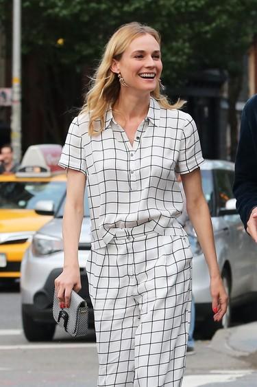 Diane Kruger y su look matchy matchy nos demuestran por qué es una it girl