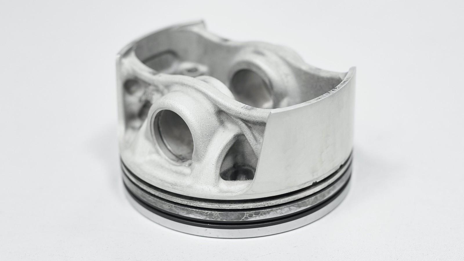 Foto de Pistones impresión digital Porsche (4/10)