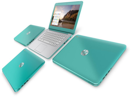 HP Chromebook Turquesa