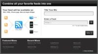 RSSMixer, combinando varios feed en uno solo