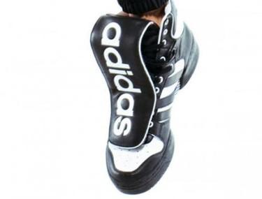 Maxi-lengüetazo de Jeremy Scott para Adidas, Otoño/Invierno 2009