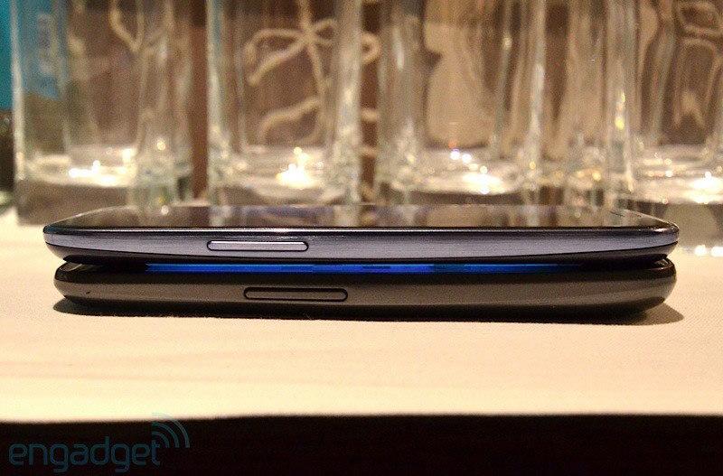 Foto de Samsung Galaxy SIII vs. Google Galaxy Nexus (4/8)