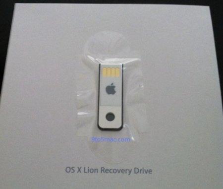 Así es el USB de recuperación de Lion