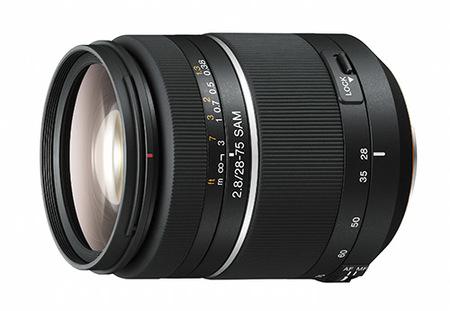 Nuevos objetivos Sony 28-75 f:2.8 SAM y 30mm F2.8 Macro DT