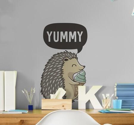 Tenvinilo Vinilo Decorativo Porcupine Yummy Desde 5 75eur A20458