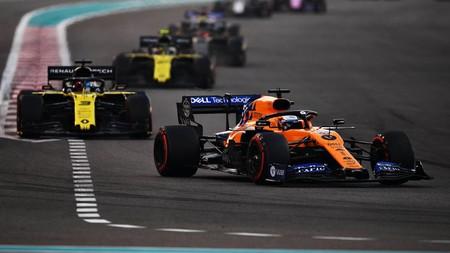 Sainz Ricciardo Abu Dabi F1 2019