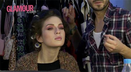 María Valverde en Glamour España: making of