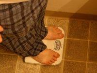 La báscula sólo mide kilos de peso