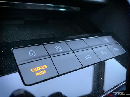 Skoda Octavia Combi RS 245 selector modos