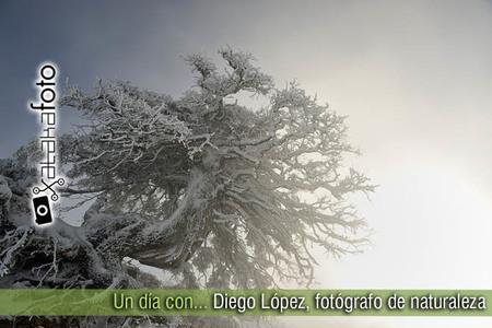Un día con... Diego López, fotógrafo de naturaleza