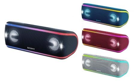 Sony SRS-XB41, el altavoz inalámbrico ideal para el verano, esta mañana, por 50 euros menos en la Red Night de Mediamarkt
