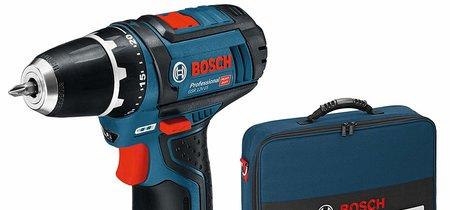 Por 94,90 euros tenemos el set de taladro inalámbrico Bosch Professional GSR 12V-15 en Amazon
