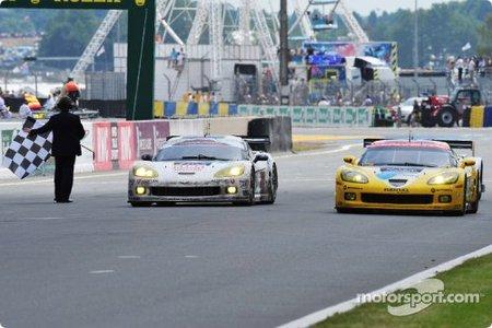 Antonio García renueva título de GT1 con Corvette en las 24 Horas de Le Mans