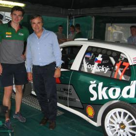 Sainz-Moya, de nuevo con un WRC en el Shalymar