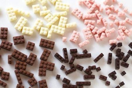Legos de chocolate, dale vuelo a tu imaginación