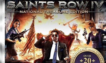 Saints Row 4 National Treasure Edition tiene fecha de lanzamiento y 29 DLC