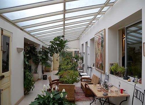 Loft con jardín en París