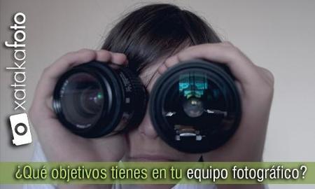 ¿Qué objetivos tienes en tu equipo fotográfico?: Los resultados