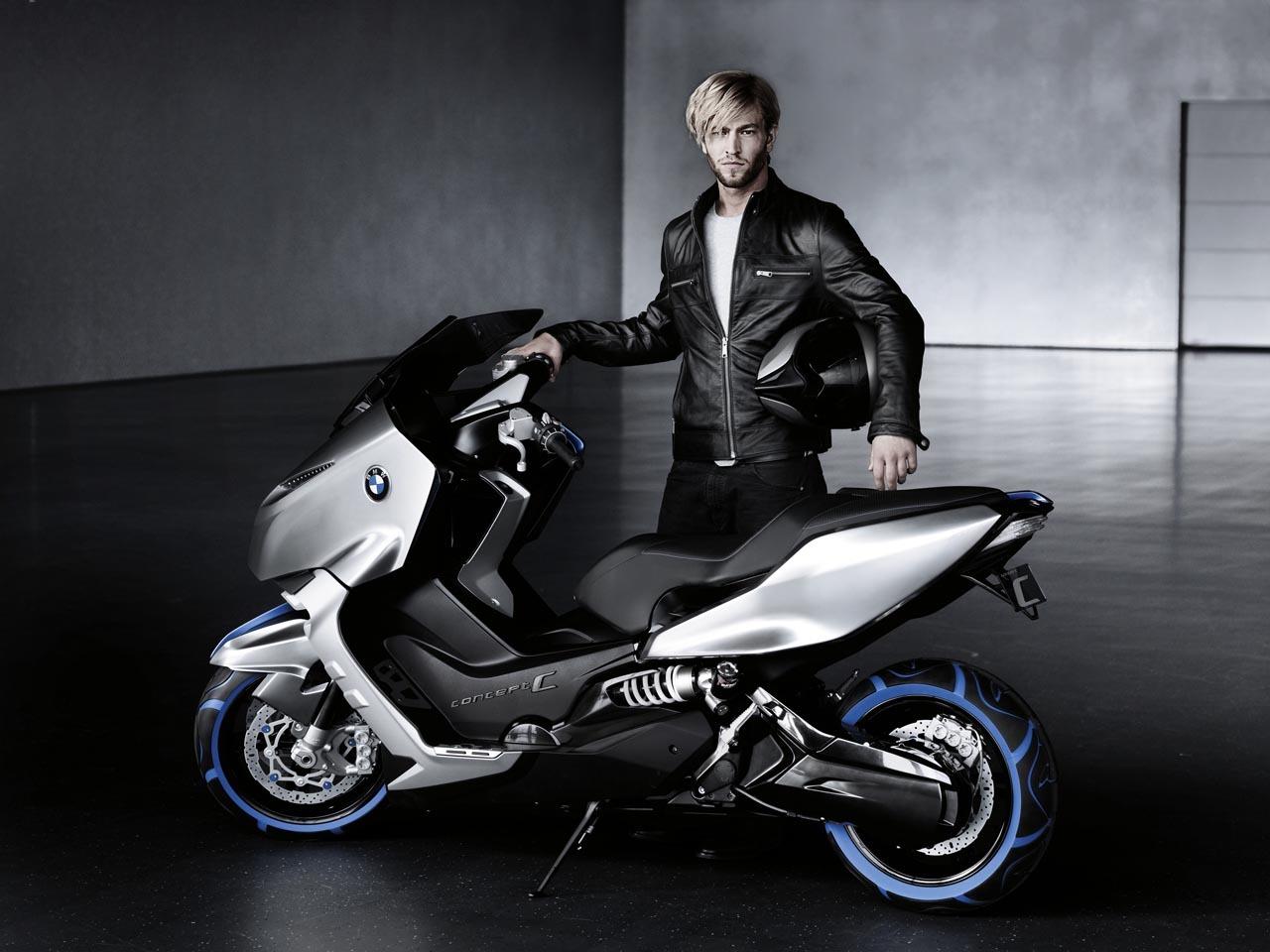 Foto de BMW Concept C Scooter, el Scooter del futuro según BMW (12/19)