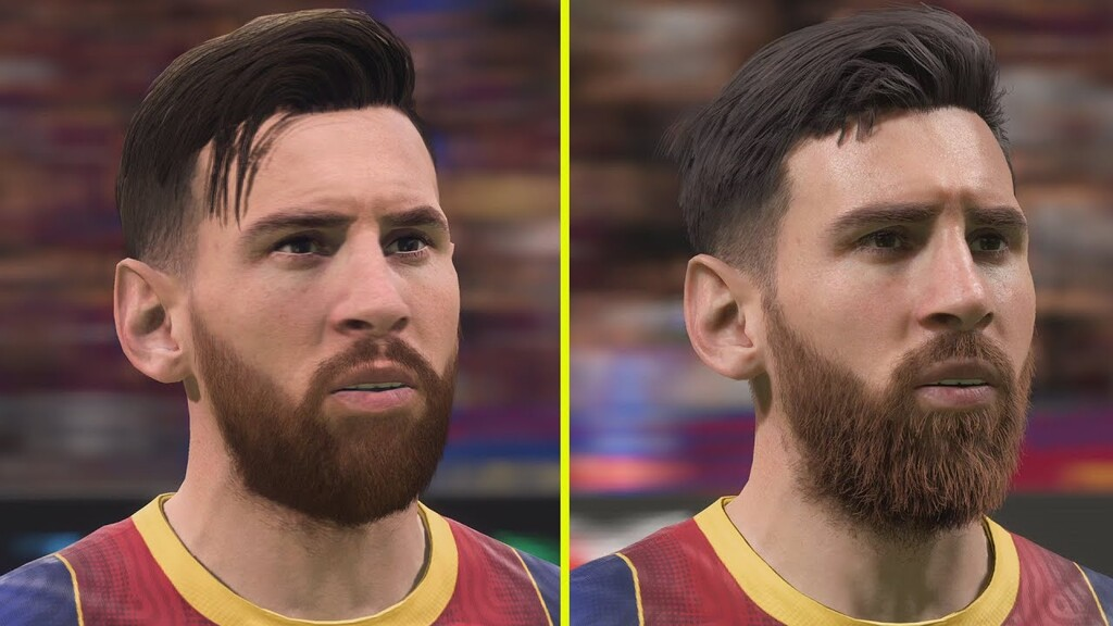 Este vídeo de FIFA 21 pone a las versiones de PS4 Pro y PS5 frente a frente
